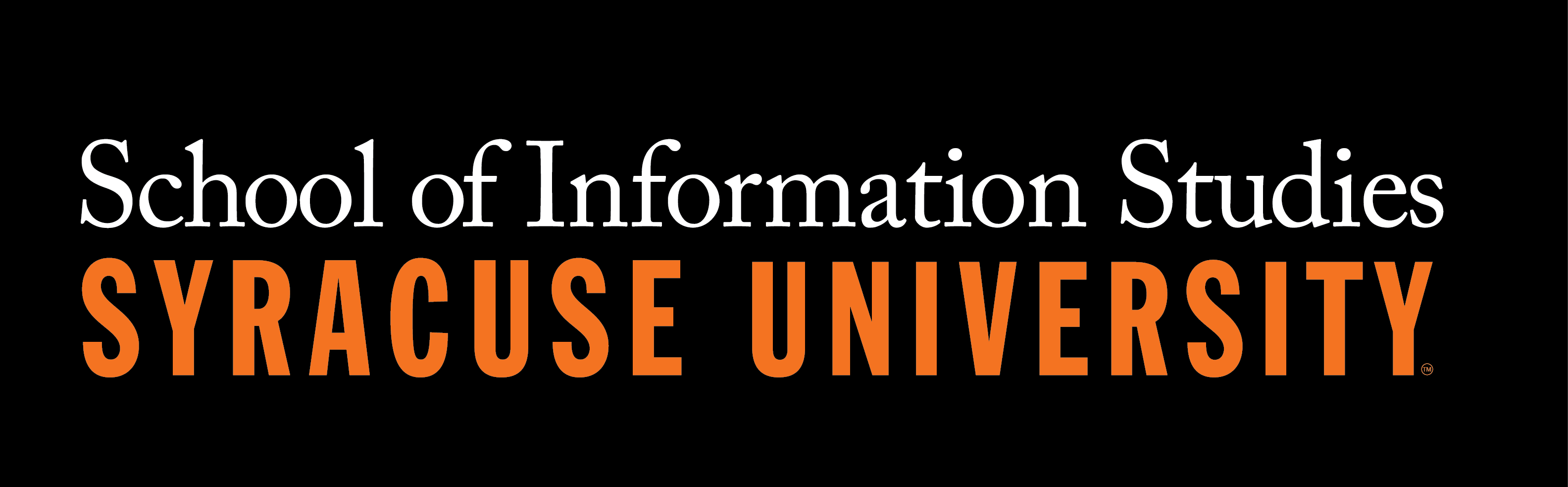 logo for the School of Information Studies at Syracuse University